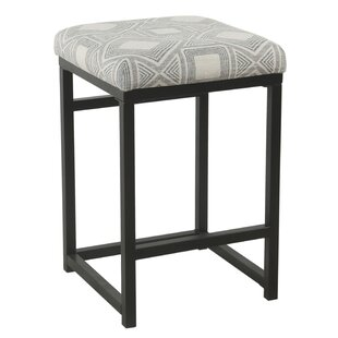 Romeo 24 Bar Stool by Gracie Oaks