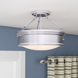 Cummingham 3-Light Semi Flush Mount by Three Posts