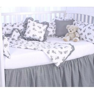 Reviews Elephant Tales Fitted Crib Sheet ByBlueberrie Kids