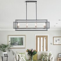 Modern Amp Contemporary Square Rectangle Chandeliers