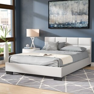 Helmick Upholstered Platform Bed by Wade Logan Fresh