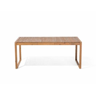Etta Wooden Dining Table Image