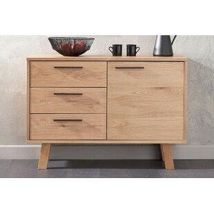 Review Asenath Oak 3 Drawer Sideboard