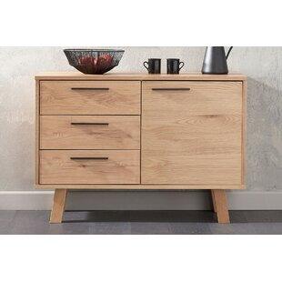 Asenath Oak 3 Drawer Sideboard By Natur Pur