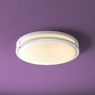 Oxygen Lighting Oracle 2-Light Flush Mount