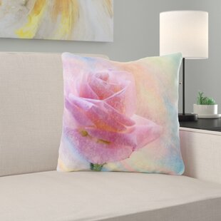Placencia Flower Throw Pillow