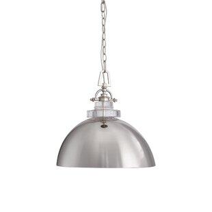 Breakwater Bay Esme Urban 1 -Light LED Dome Pendant