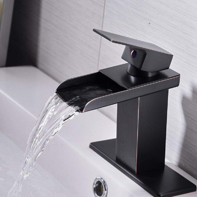 VIBRANTBATH Commercial Single Hole Bathroom Faucet ...