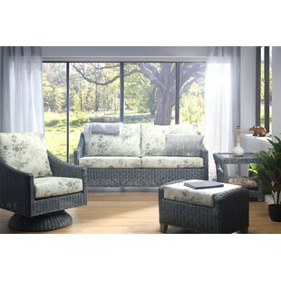 Nevaeh 4 Piece Conservatory Sofa Set By Beachcrest Home