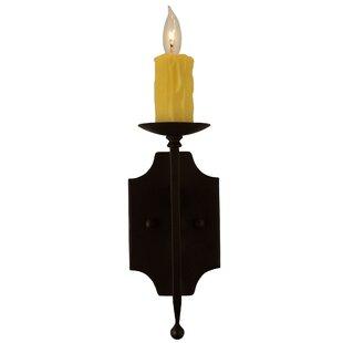 Toscano 1-Light Candle Wall Light by Meyda Tiffany