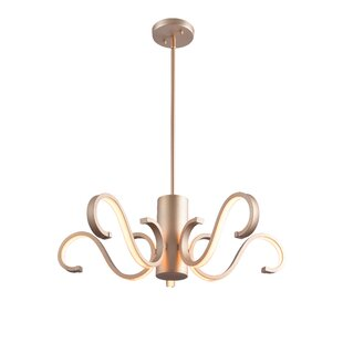 House of Hampton Malani 5-Light LED Novelty Chandelier