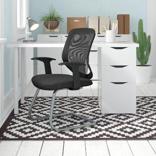 Nova Mesh Visitor Chair By Home & Haus