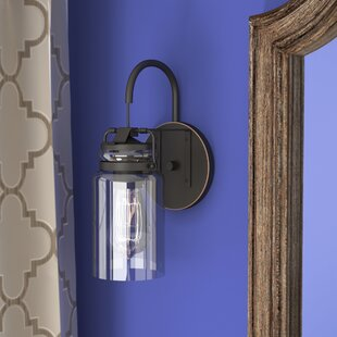 Sue 1-Light Armed Sconce by Greyleigh