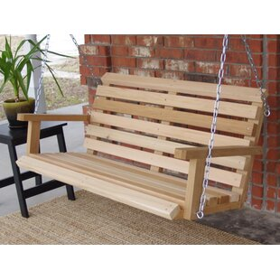 Frankie Cabin Style Porch Swing by Millwood Pines