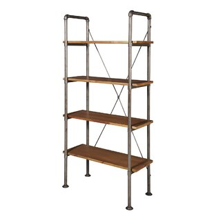 Laurel Foundry Modern Farmhouse Tomohon Scaffolding Etagere Bookcase