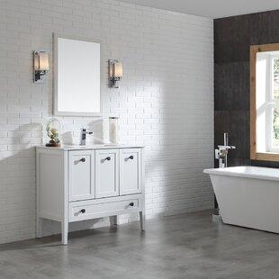 Andora 40 Single Bathroom Vanity Set by Ove Decors