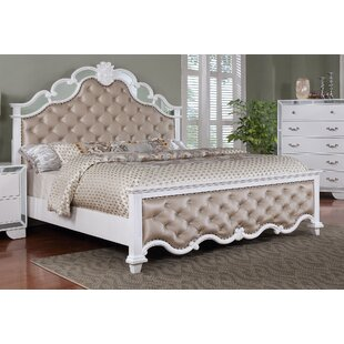 Rosdorf Park Bilbo Upholstered Panel Bed
