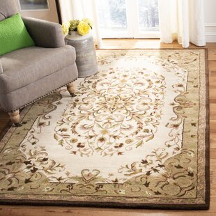 Taylor Hand-Tufted Beige Area Rug by Astoria Grand