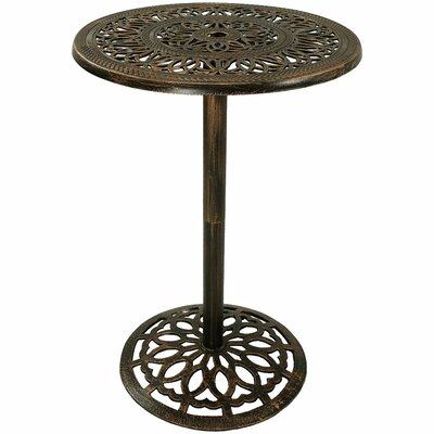 Nyla Metal Bar Table by Fleur De Lis Living New