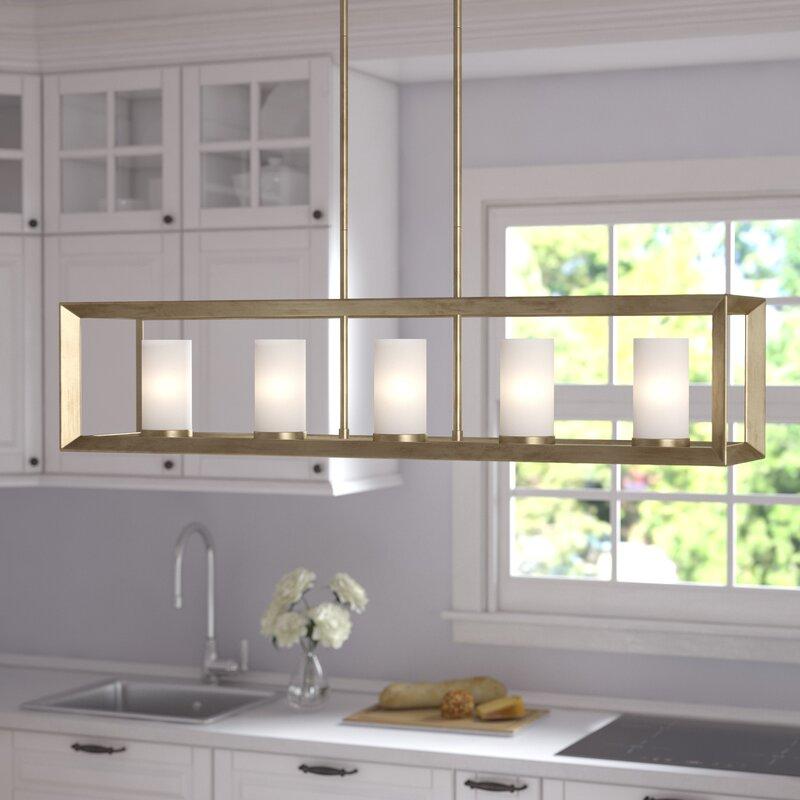 Coxsackie Modern 5 Light Kitchen Island Pendant