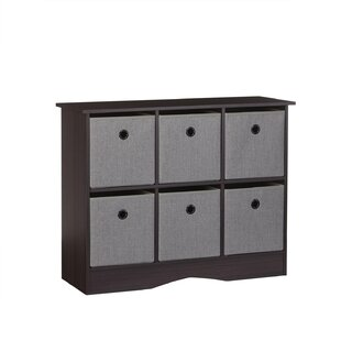 RiverRidge 6-Cubby Storage Accent Cabinet