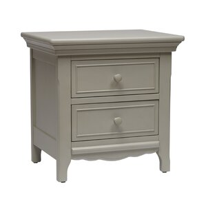 Ravenna 2 Drawer Nightstand by Lusso