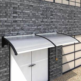 Read Reviews Bodnar W 2.5 X D 1m Door Canopy