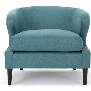 Daum Barrel Chair by Mercury Row
