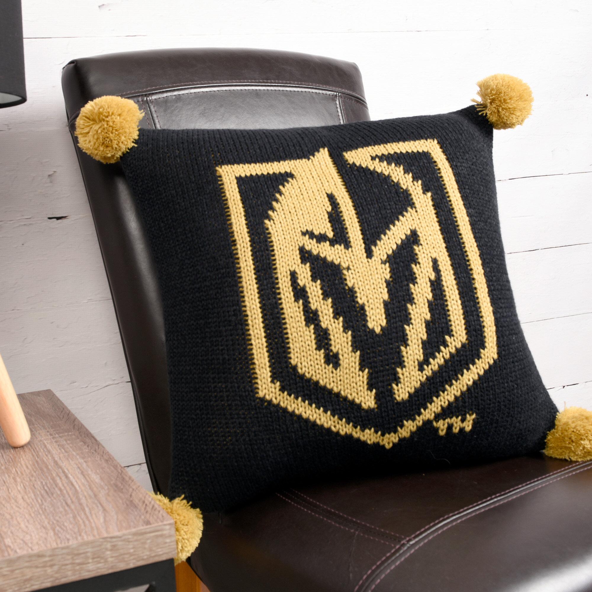 Nhl Las Vegas Golden Knights Knit Throw Pillow Wayfair