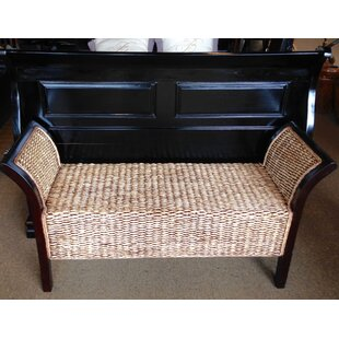 Avianna Wicker Bench by Bayou Breeze Great Reviews