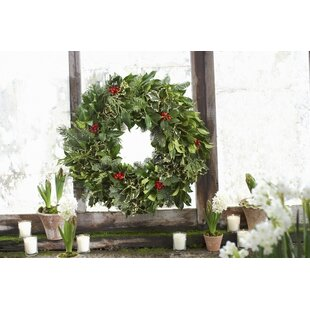 fresh oregon holly wreath