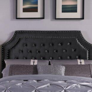 House of Hampton Deary Upholstered Panel Headboard