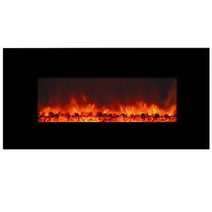 Romancer Wall Mount Electric Fireplace by Y Decor