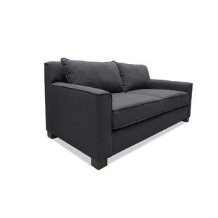 Latitude Run Tebelman Plush Deep Sofa