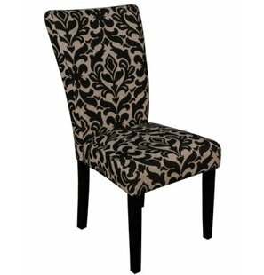 Clyburn Upholstered Dining Chair Set of 2 by Rosdorf Park