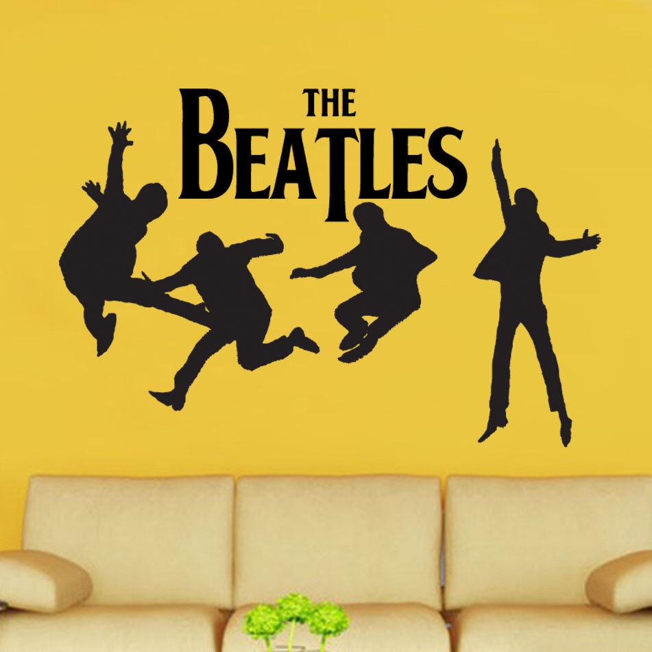 Kult Kanvas The Beatles Decal Vinyl Wall Sticker   Wayfair.co.uk
