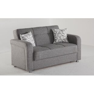 Slough Sleeper Loveseat by Orren Ellis