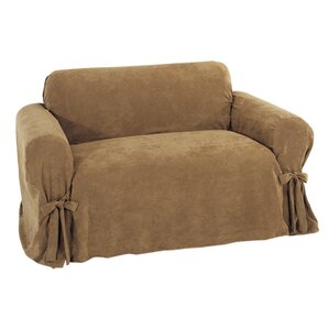 Chic Box Cushion Loveseat Slipcover by Classic Slipcovers