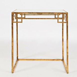 Everly Quinn Oppelo Marble 2 Piece Nesting Tables