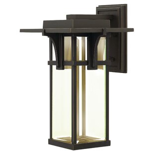 Loon Peak Kajale 1-Light Outdoor Wall Lantern