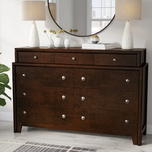 Elton 9 Drawer Standard Dresser/Chest