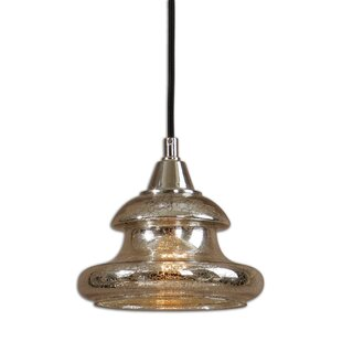World Menagerie Jenkins 1-Light Bell Pendant
