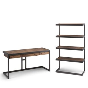 Higuera Desk with Bookcase