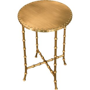 Bamboo Side End Table