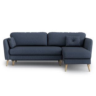 Esquina Universal Reversible Sleeper Corner Sofa Bed By Mikado Living