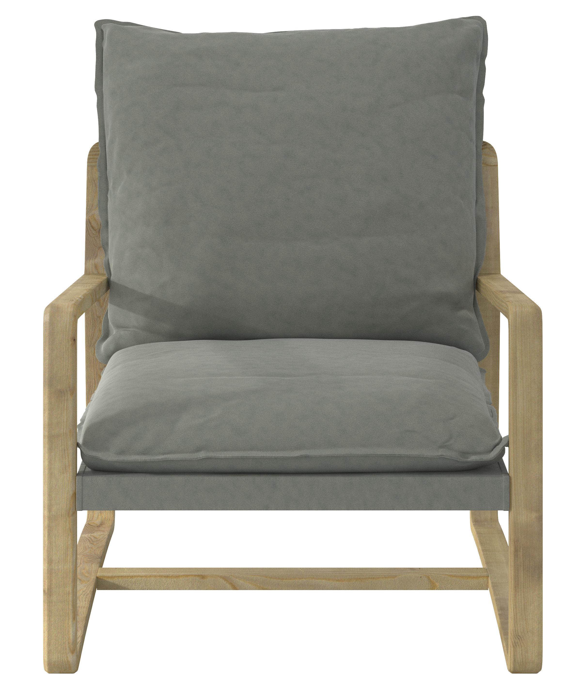 Modern Accent Chair Living Room Lounge Chair Fabric Arm Chair Leisure Single Sofa