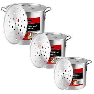 Aluminum Pot Set with Lids