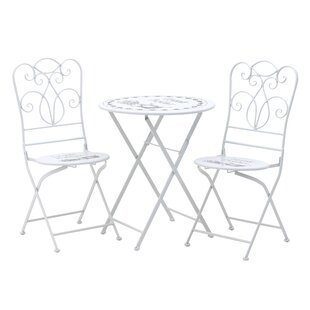 Ianthe Folding Dining Set With 2 Chairs By Lily Manor