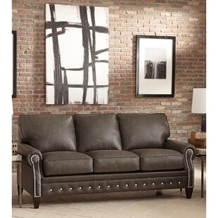 Compare & Buy Jacey Leather Sofa Bed by 17 Stories Reviews (2019) & Buyer's Guide