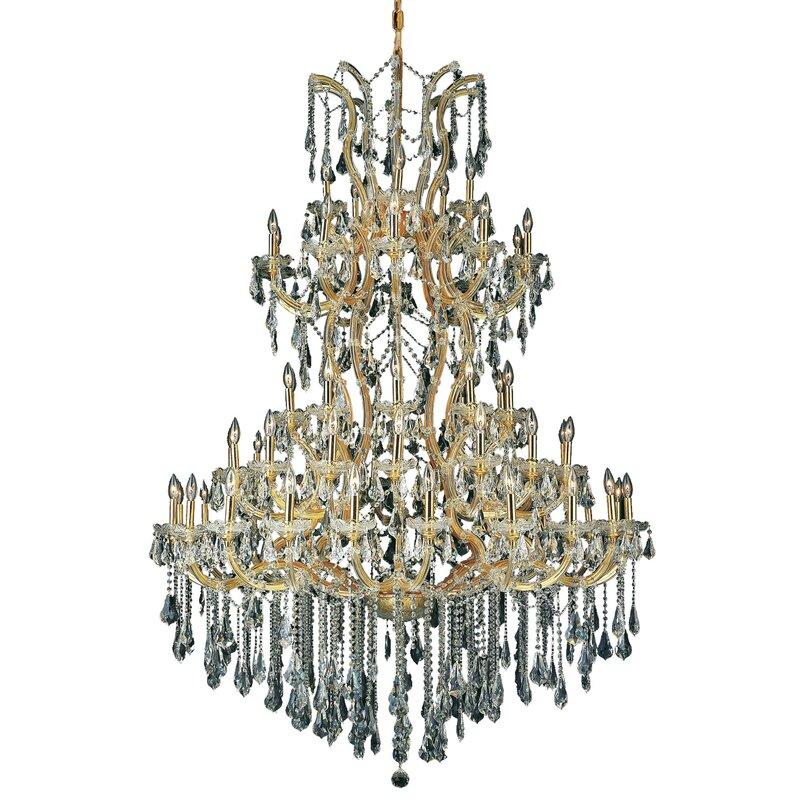 House Of Hampton Regina 61 Light Candle Style Tiered Chandelier Wayfair